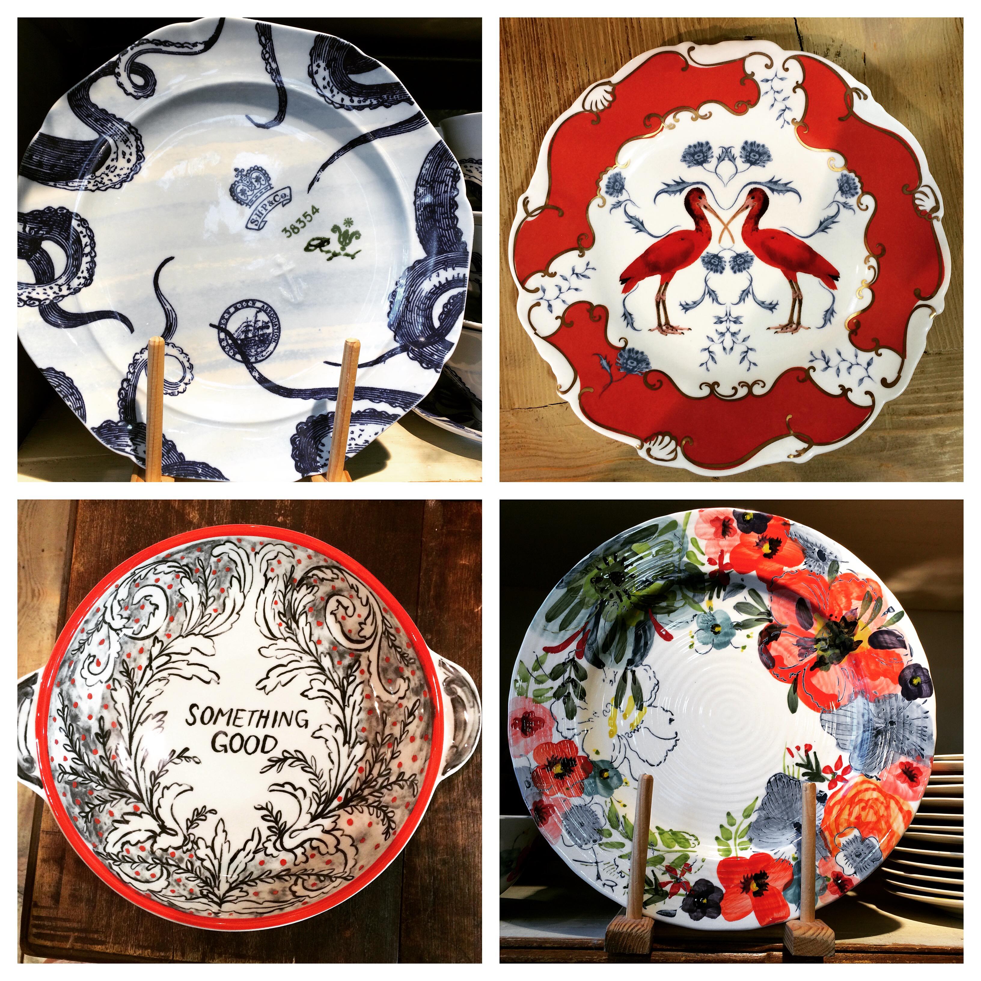 Choosing plates