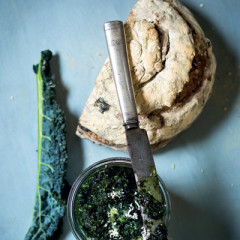 Kale-and-basil pesto