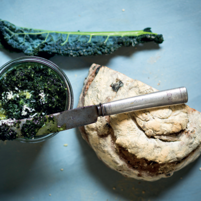 Kale-and-basil pesto