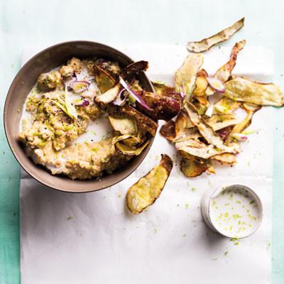 4 veggies other than potatoes that make delicious crisps