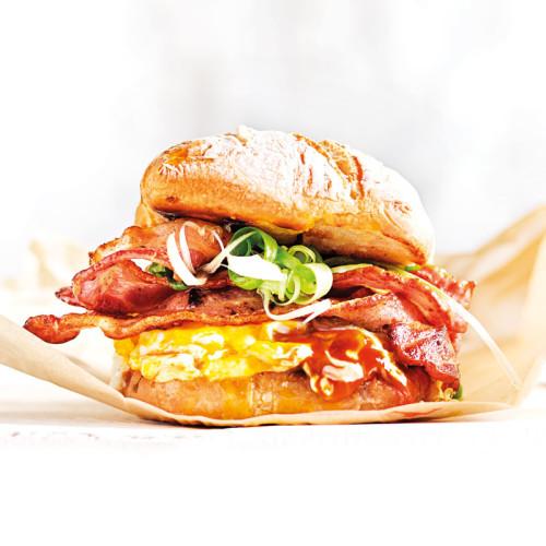 Abi's eggslut-inspired sandwich