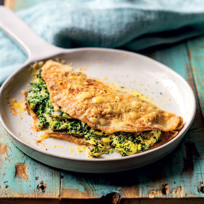 Baked cauliflower wraps with chicken, spinach and ricotta | Woolworths ...