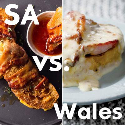 When rugby met food: Welsh rarebit vs South African braaibroodjies