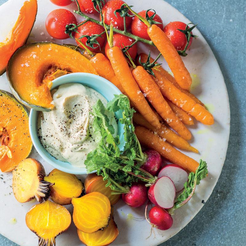 Vegetable Platter With Hummus Woolworths Taste