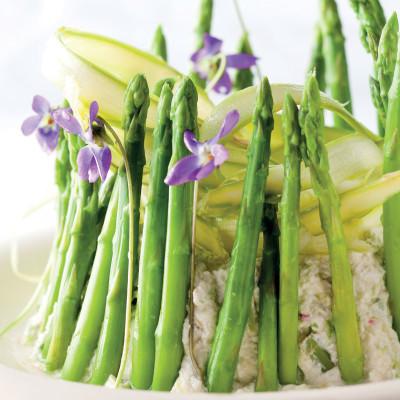 Asparagus dip