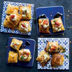Triple-cheese bites