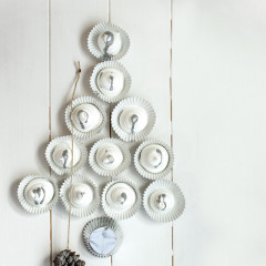 Meringue wall decoration