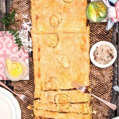 Onion cheese tart