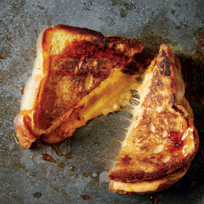 The ultimate toasted cheese