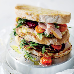The ultimate tripledecker gammon sandwich
