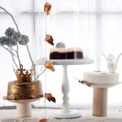 Festive cake trio