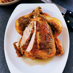 Gordon's herb-buttered chicken with citrus breadcrumbs