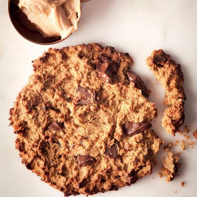 Chickpea chocolate cookies