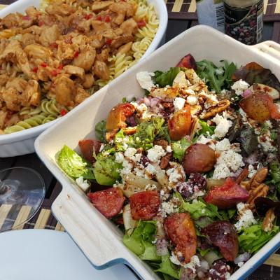 Fig & Cranberry Feta Salad