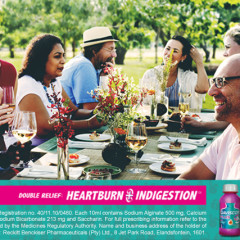 Sponsored: Relieve heartburn and indigestion with Gaviscon Plus