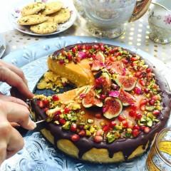 Desert Rose cheesecake