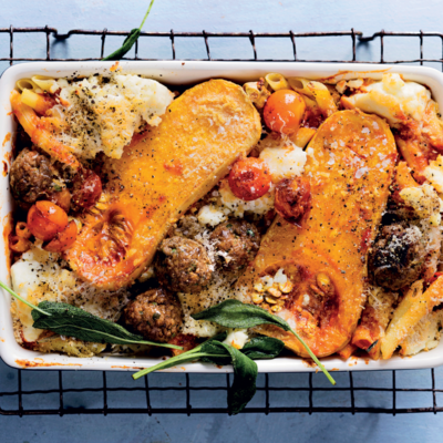 The ultimate pasta bake
