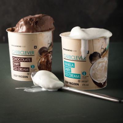 Woolies' new CarbClever ice cream