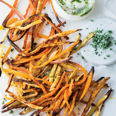 Root veggie fries