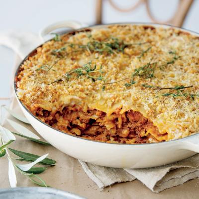 Perfect beef lasagne