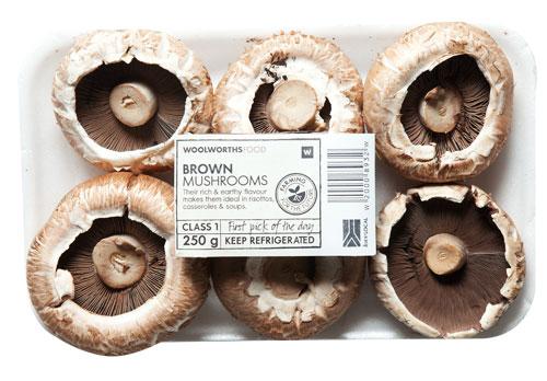 Brown-Mushrooms