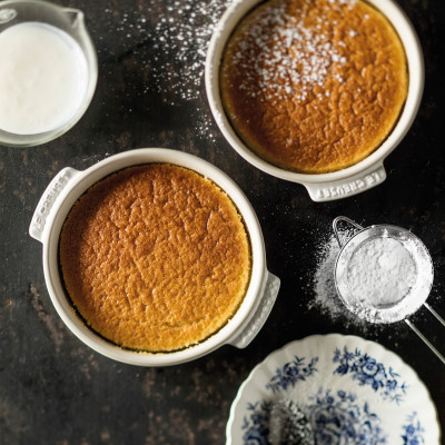 Pinkie's buttermilk pudding