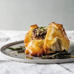 Lorraine's fillet in phyllo pastry