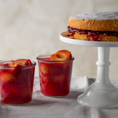 Wendy's poached plum jelly