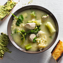 how to make chicken and leek broth