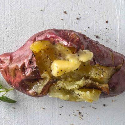 1 baked potato, 3 ways