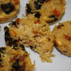 Dried fruit rice muffin