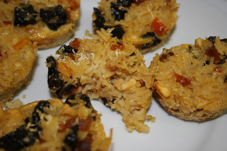 Dried fruit rice muffin | Woolworths TASTE