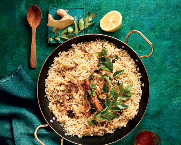 breyani inspired fragrant rice
