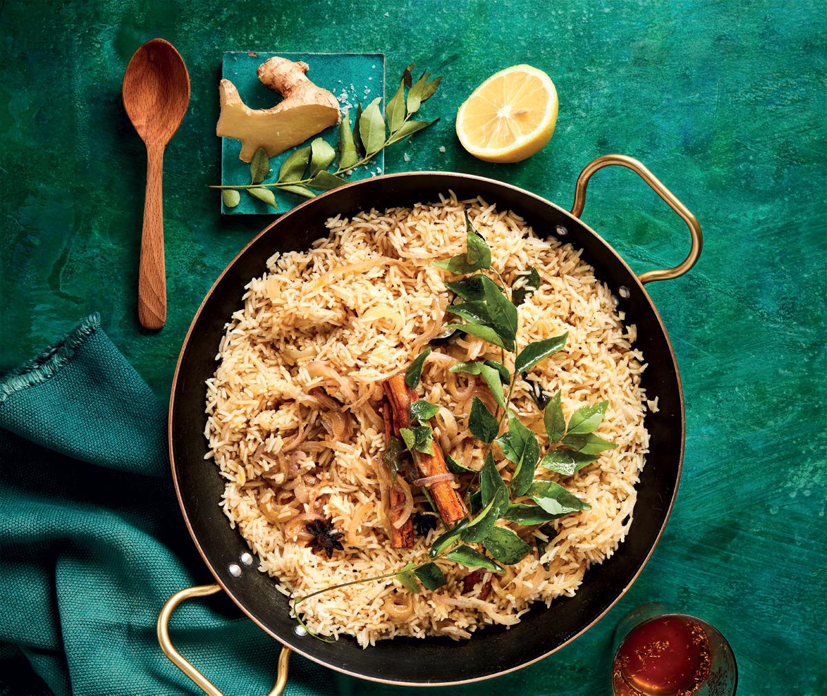 breyani inspired fragrant rice
