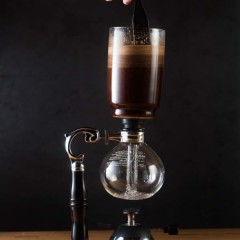 The Siphon from Origin Coffee