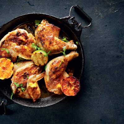 Juicy citrus chicken