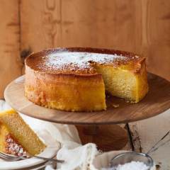 Naartjie-and-cardamom cake