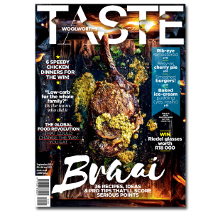 TASTE SEPTEMBER ISSUE