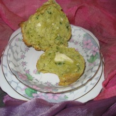 Avocado Feta Parsley Scones