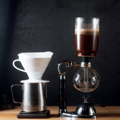How to siphon coffee