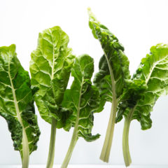 3 ways with spinach