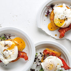 12 ways with poached eggs