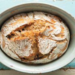 Slow-rise olive bread