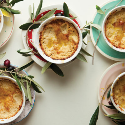Artichoke-and-olive bake