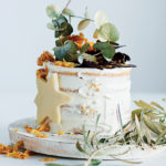 meringue-cake-with-cream-cheese-icing-and-caramel-cornflake-crown
