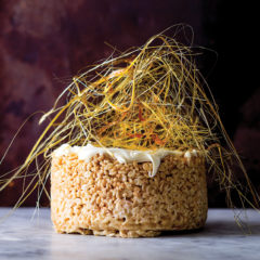 Saffron and Scarlett's Rice Krispie cake