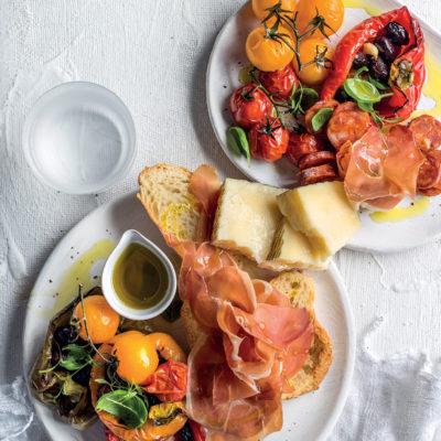 Spanish tapas platter