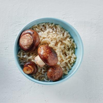 mushroom-rice-bowl
