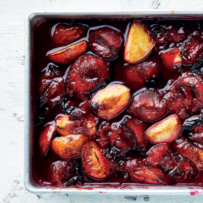 Roast Flavourburst stone fruit tray jam