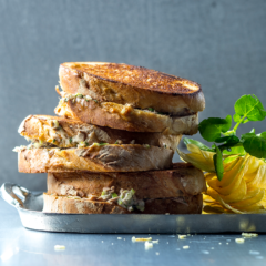 Could this be the best tuna mayo sarmie ever?